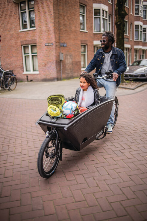 Rent cargo bike per hour