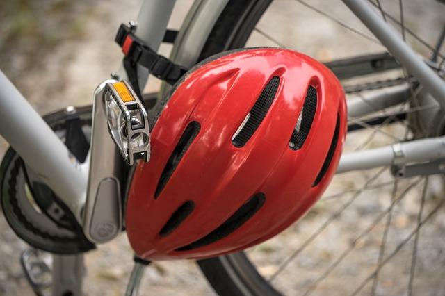 Bike rental helmet